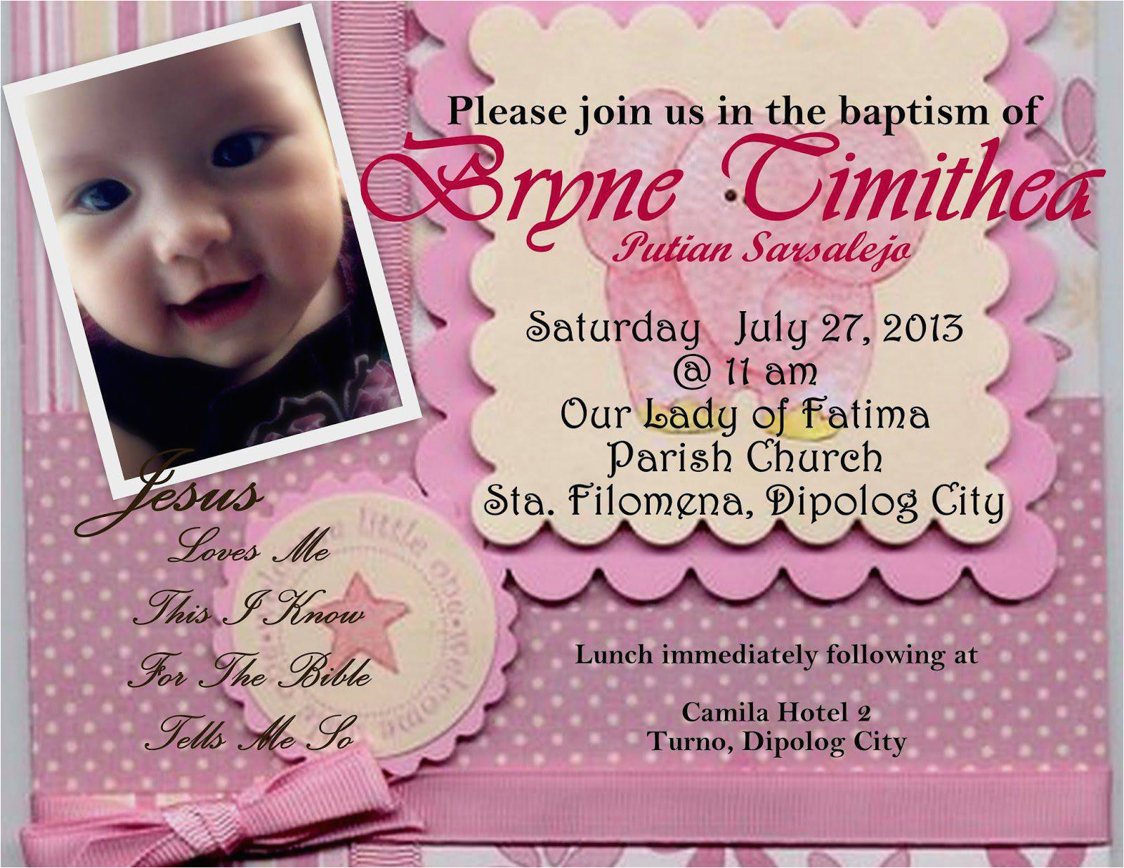 first birthday and christening invitation wording