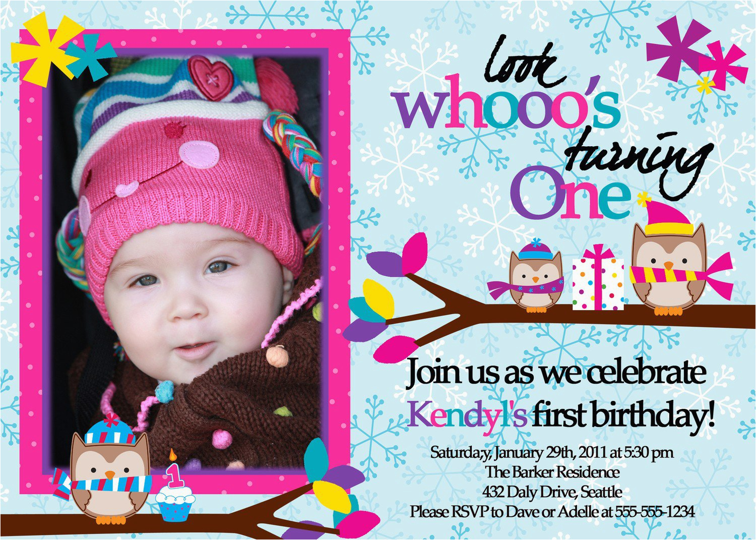 1st year birthday invitation cards best party ideas