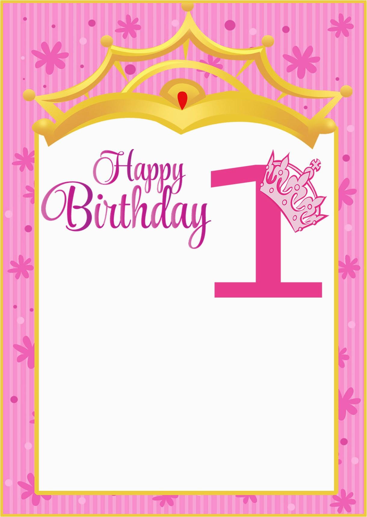 printable first birthday invitation card invitations online