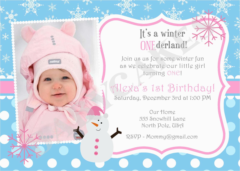 collection design first birthday invitation wording