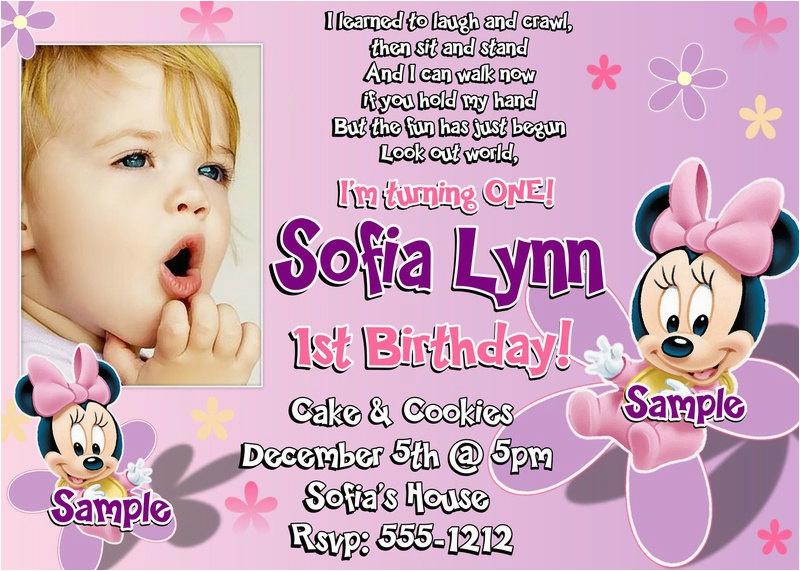 94 First Birthday Invites Wording