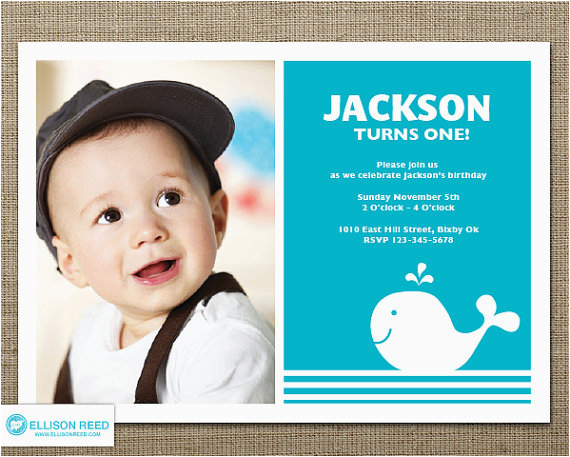 First Birthday Photo Invitations Boy 1st Ideas For Boys Bagvania Free