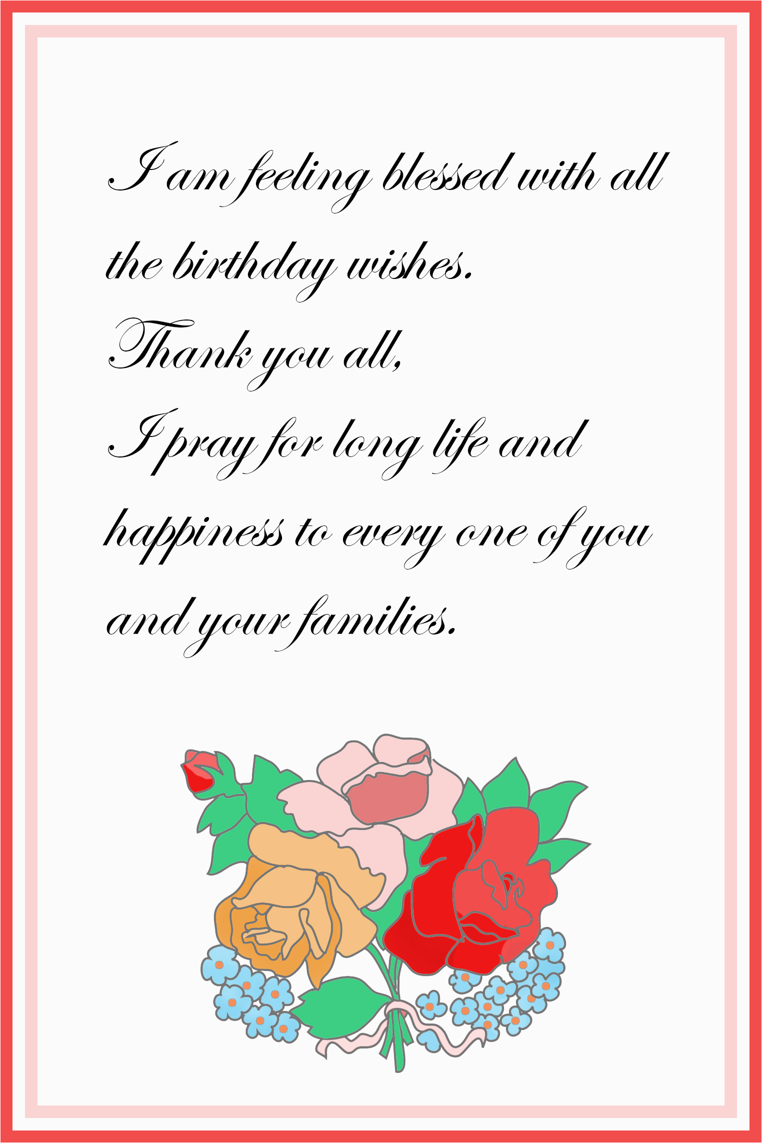 First Birthday Thank You Card Messages Printable Cards Free Greeting