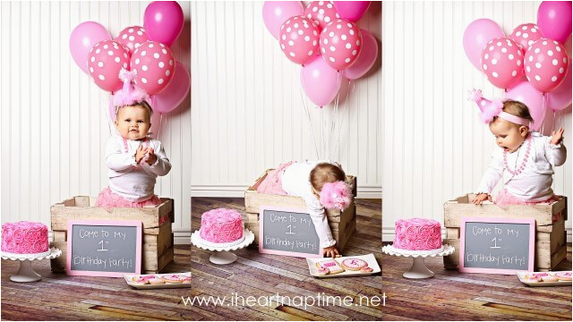 preety in pink first birthday party