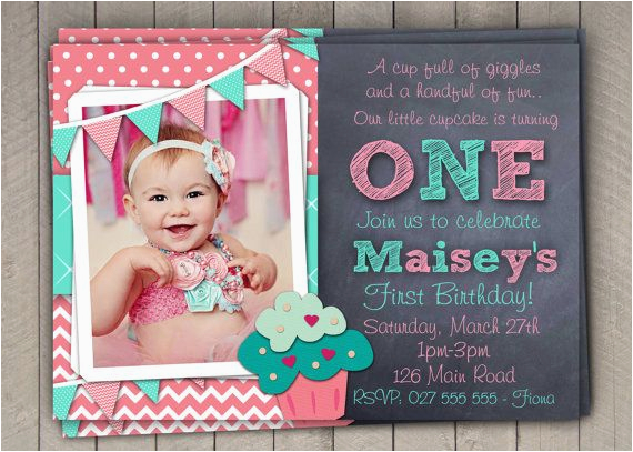 wording for first birthday invitations