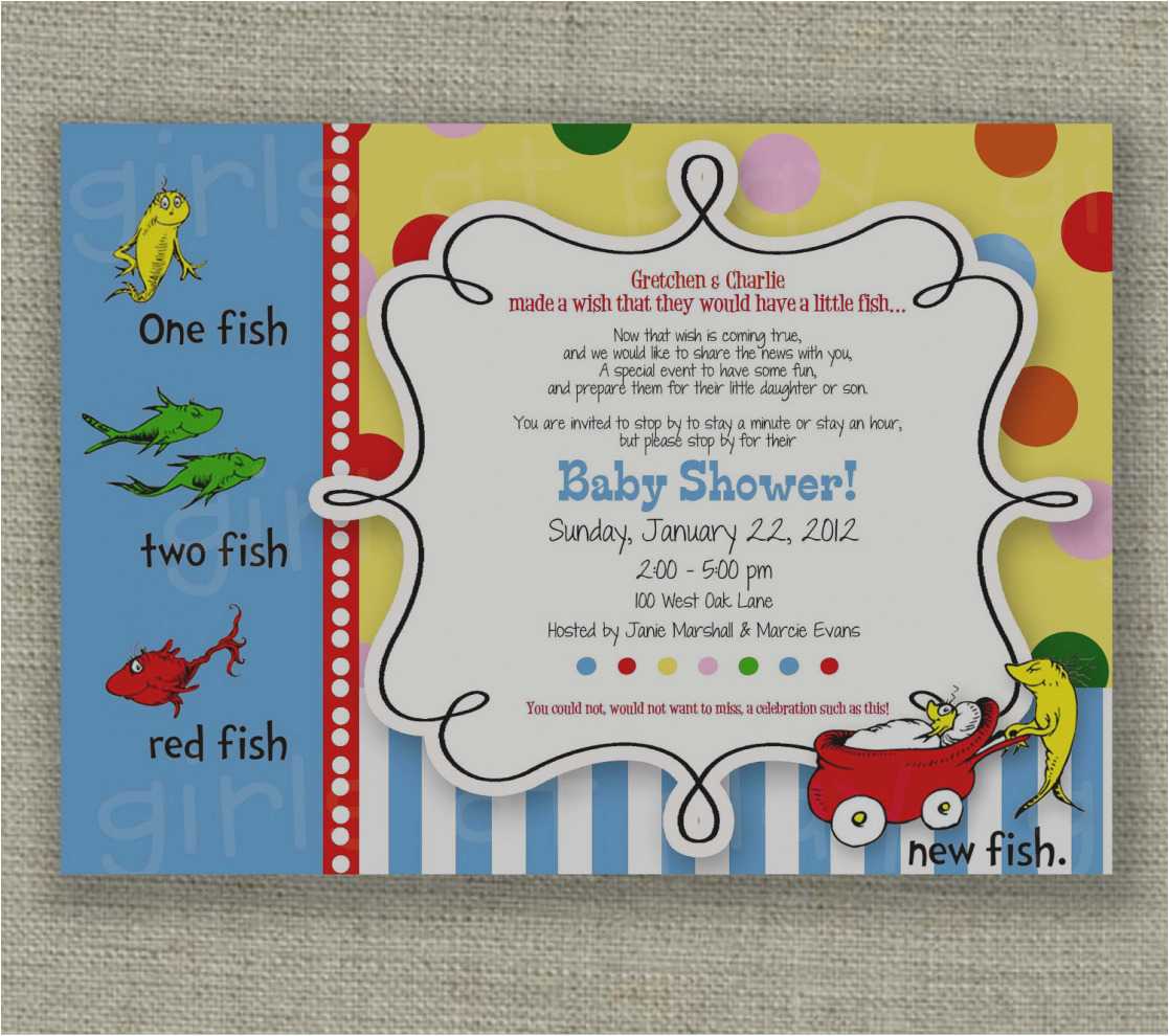 unique fish themed birthday party invitations printed or printable fishing invitation gone 4209