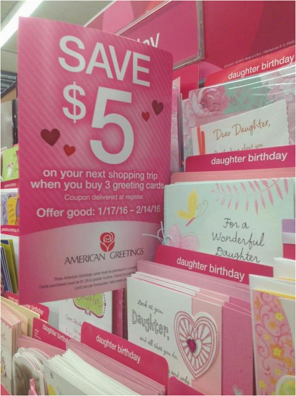 Free American Greetings Greeting Cards After Catalina At Safeway