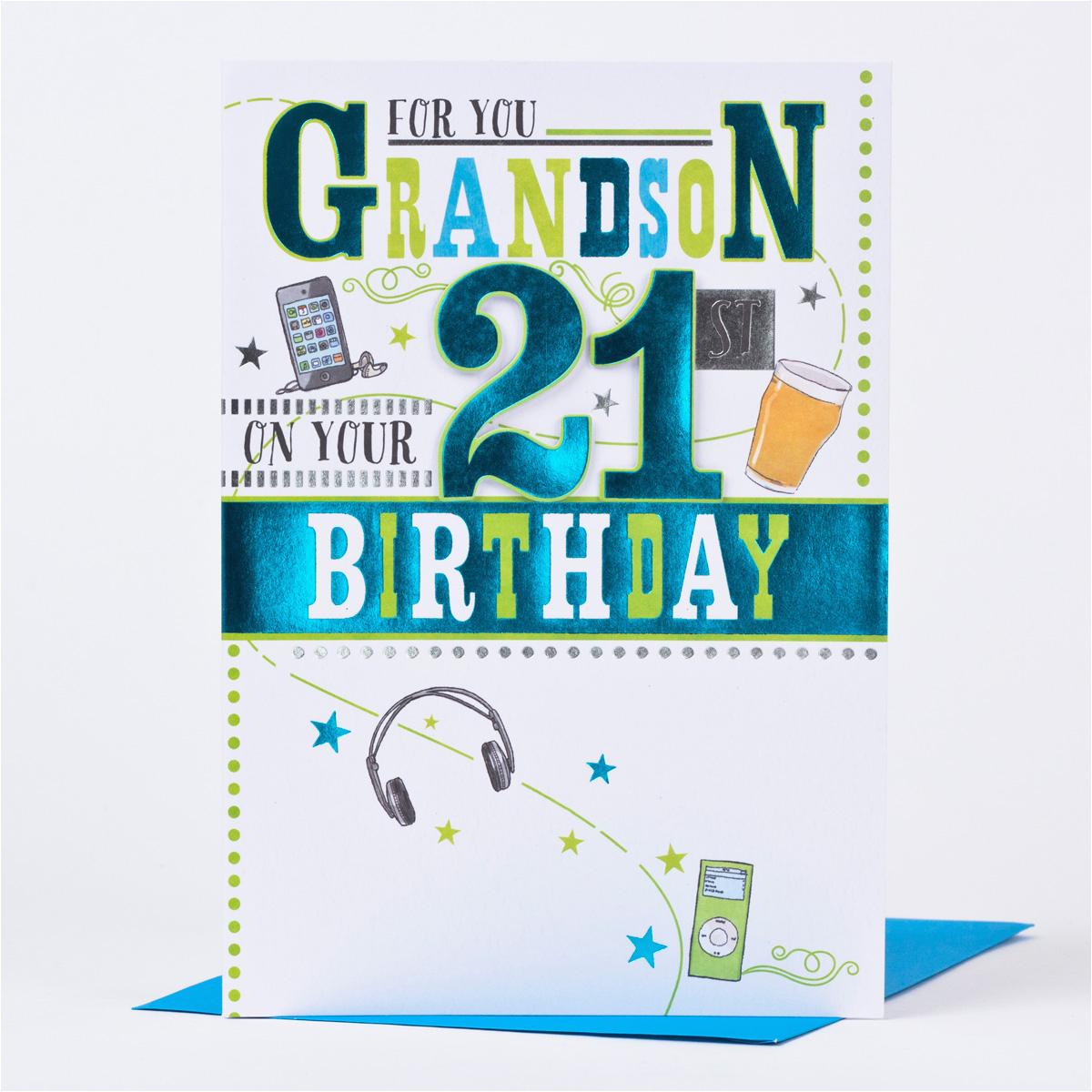 birthday cards for grandson