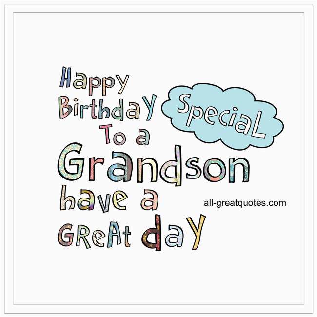 free animated birthday cards for grandson