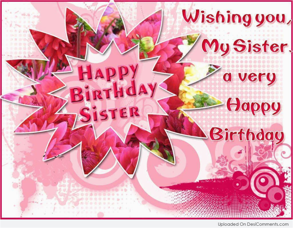 Free Animated Birthday Cards For Sister Wishes Pictures Images Graphics
