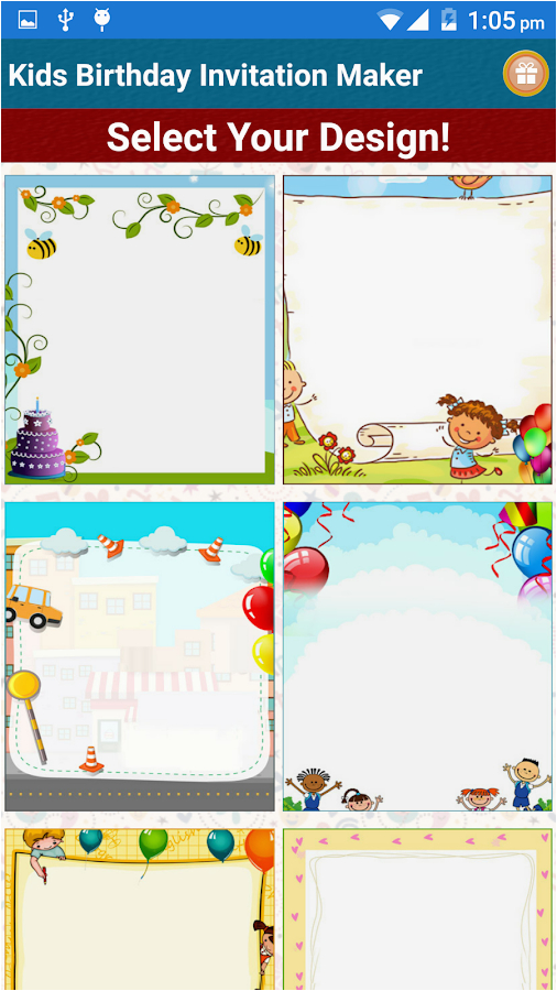 Free Apps For Birthday Invites Kids Invitation Maker Android On Google Play