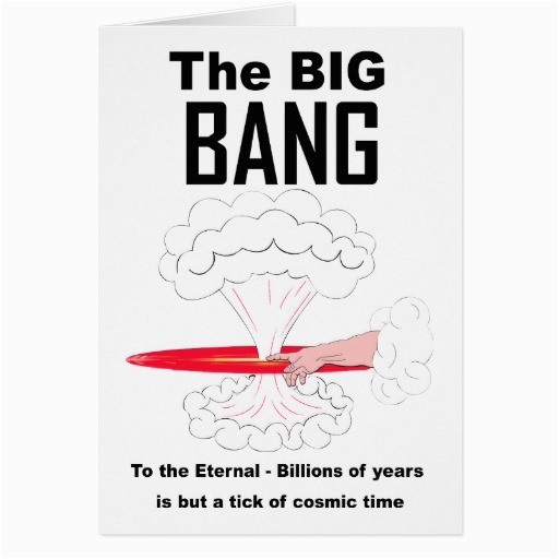the big bang theory greeting card zazzle