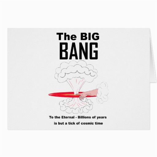 the big bang theory greeting card zazzle