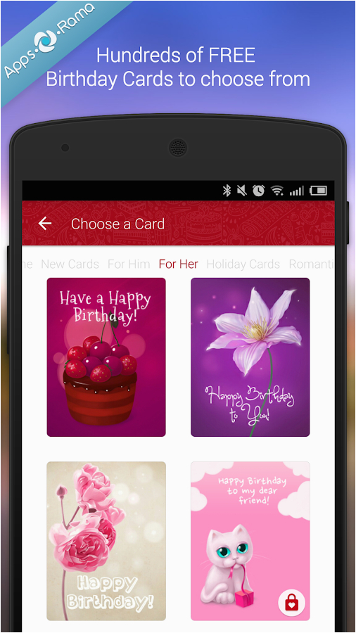 Free Birthday Card Apps Facebook Cards For Android On Google Play