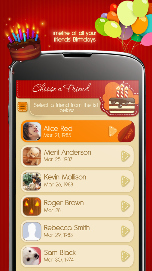 Free Birthday Cards App For Android Apps On Google Play