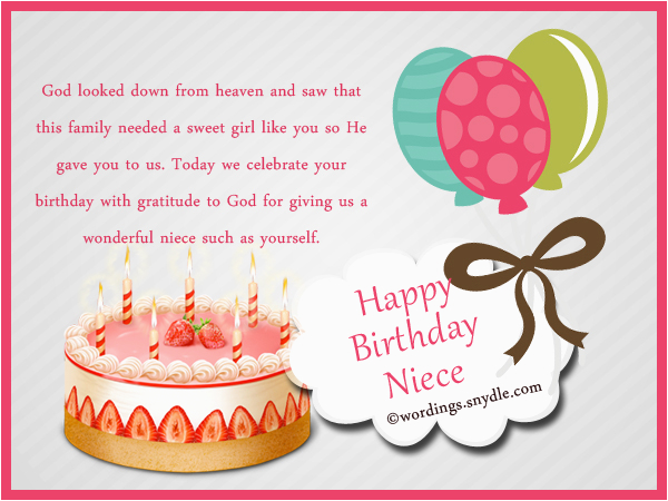 Free Birthday Cards For My Niece Happy Wishes Messages
