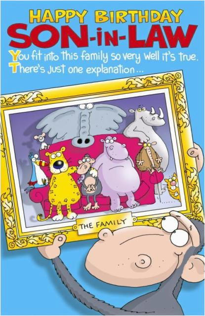 Free Birthday Cards For Son In Law Happy Greetings Card Humour Funny