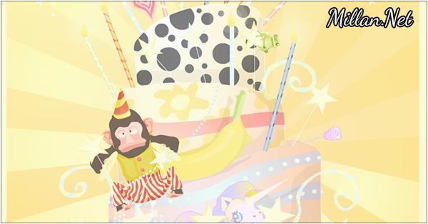 birthday ecards birthday kooky cake card