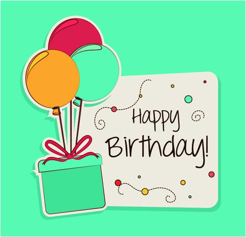 8 free birthday card templates excel pdf formats