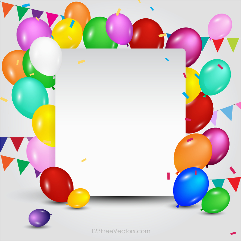 happy birthday card template free vectors pinterest