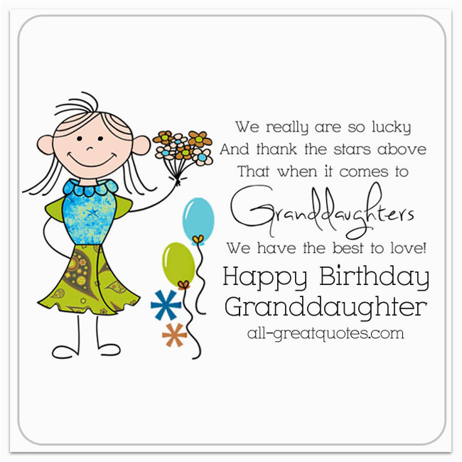 Free Birthday Greeting Cards For Granddaughter Happy Beautifuol