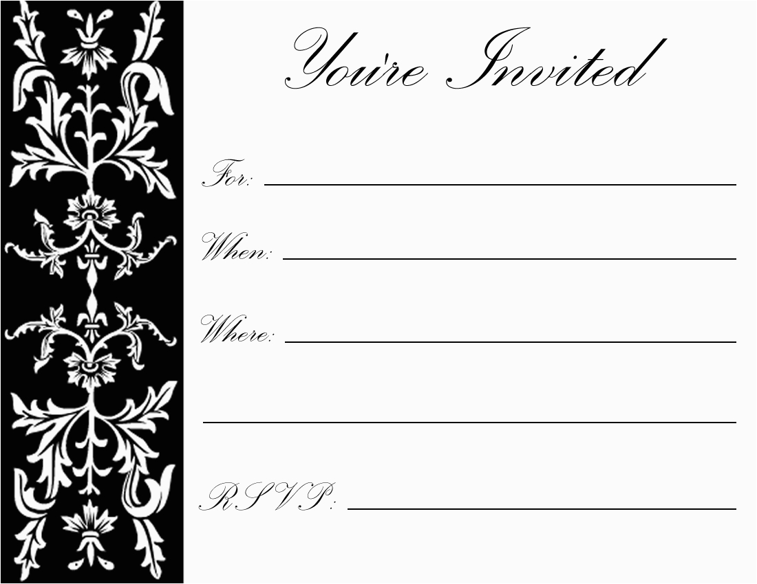 Free Birthday Invitation Templates For Adults Printable 70th Party Invitations Best