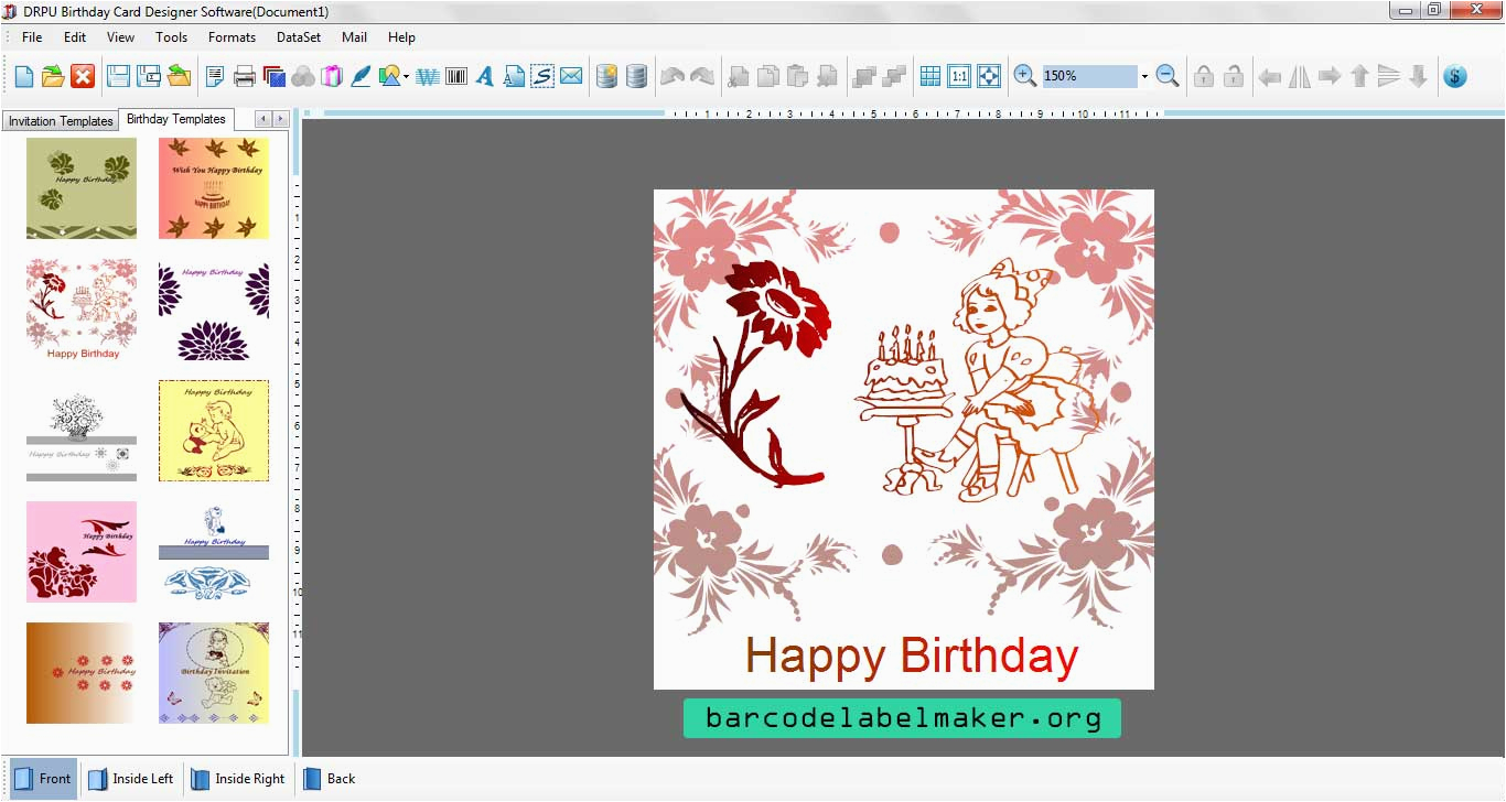 Free Birthday Invitations Maker Custom Invitation Creator