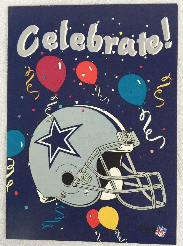 26 vintage dallas cowboys birthday party cards bernie