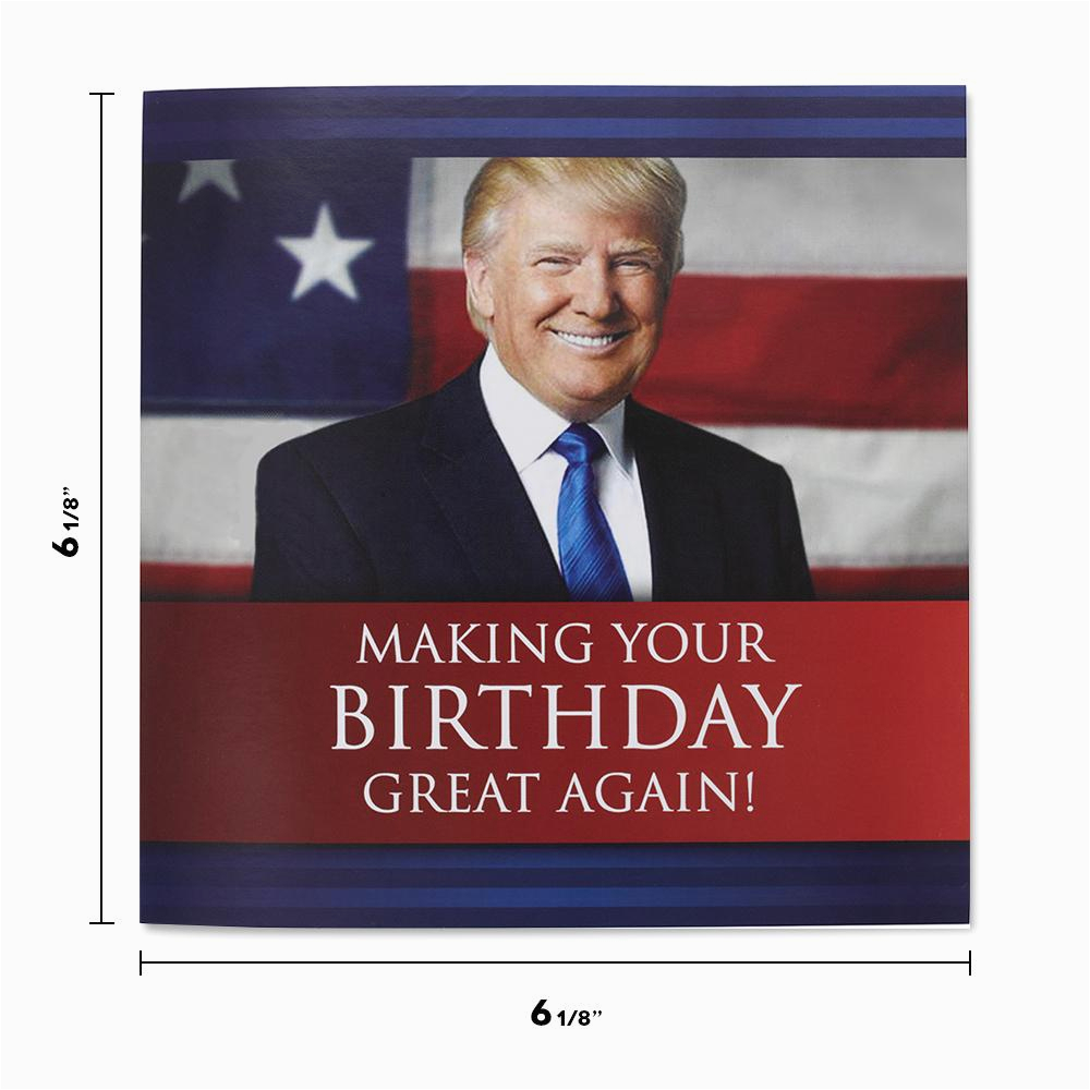 Free Donald Trump Birthday Card Our Friendly Forest