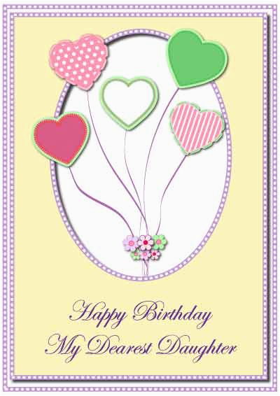 Free E Birthday Cards For Daughter 7 Best Images Of Printable