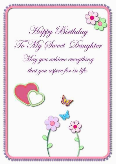Free E Birthday Cards For Daughter My Printable Com