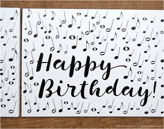 Free E Birthday Cards With Music Note Card Musician By