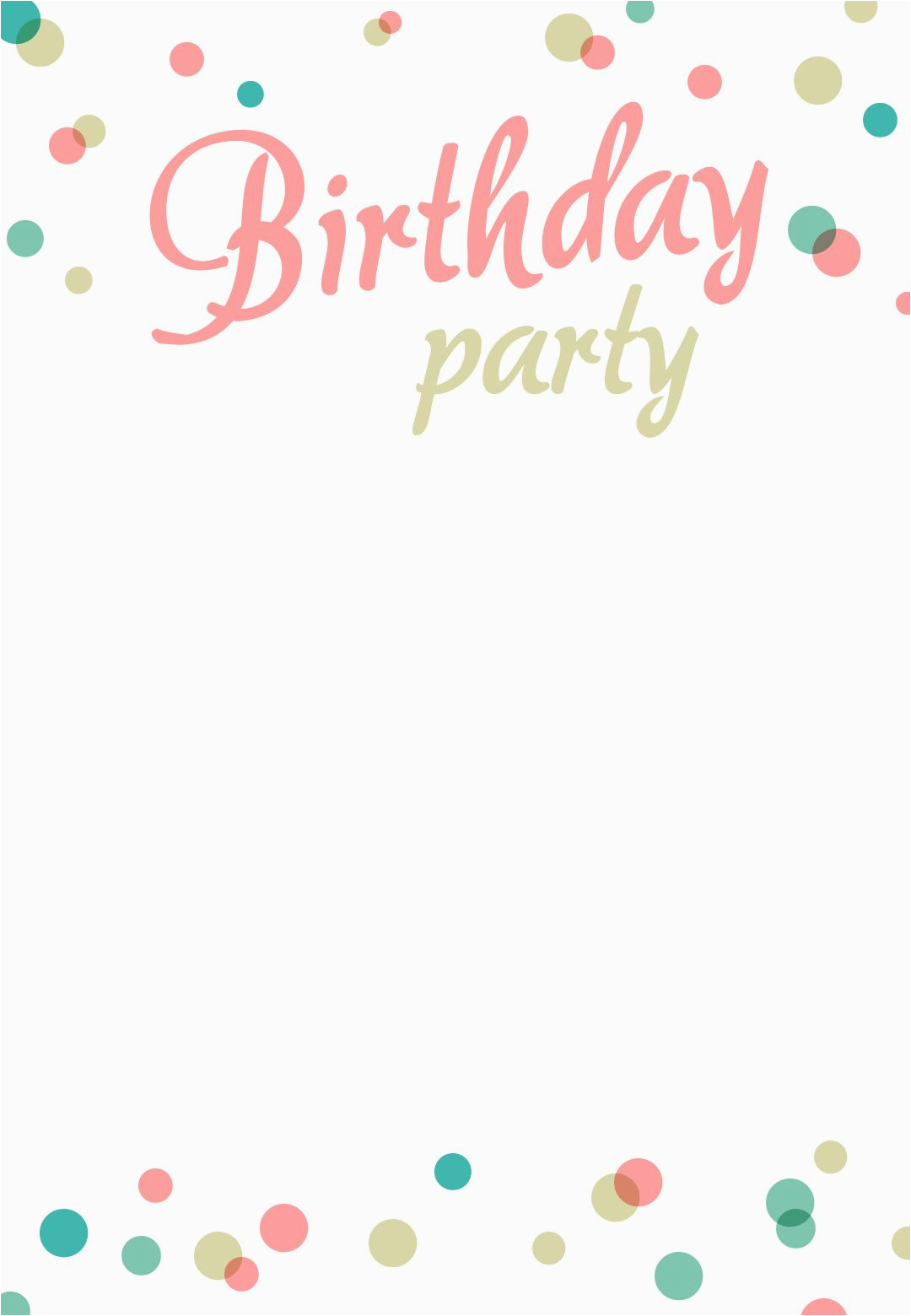 Free E Invitation Cards For Birthday Party Printable Addison 39 S 1st
