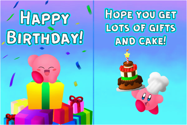email birthday card