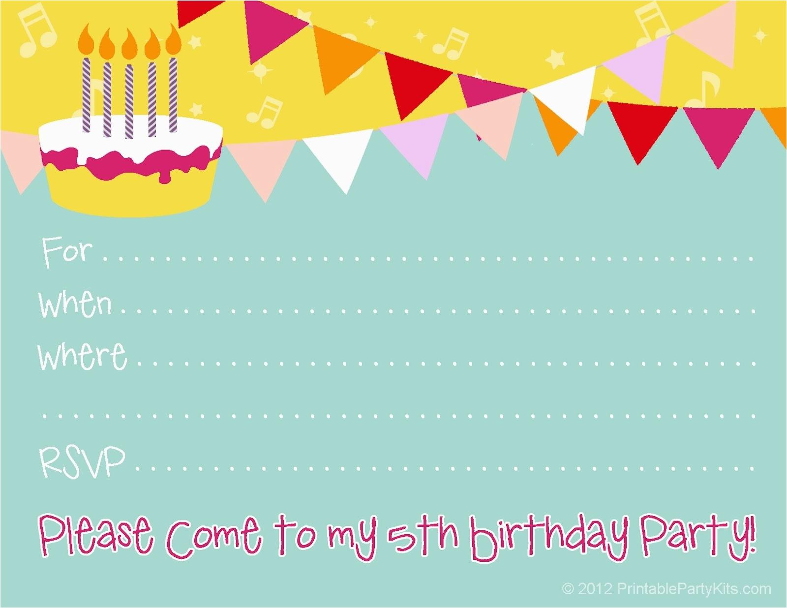 Free Ecard Birthday Invitations Cute Invitation Ideas Template Resume Builder