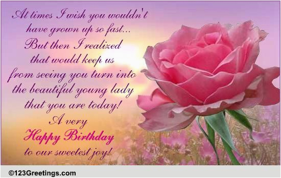 Free Email Birthday Cards For Daughter Sweetest Joy Son Ecards Greeting