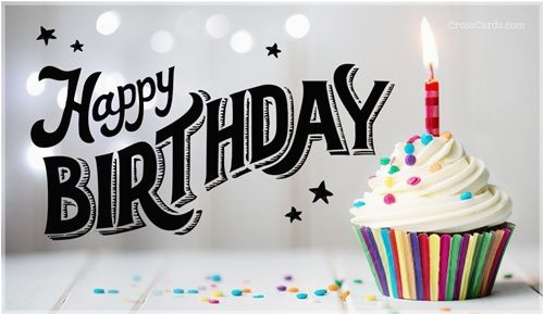 Free Email Birthday Cards For Friends Cross Ecards Pinterest