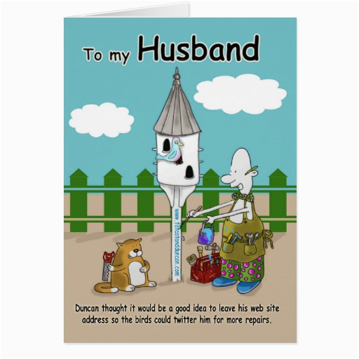 Free Funny Birthday Cards For Husband Twitter Me Card Zazzle