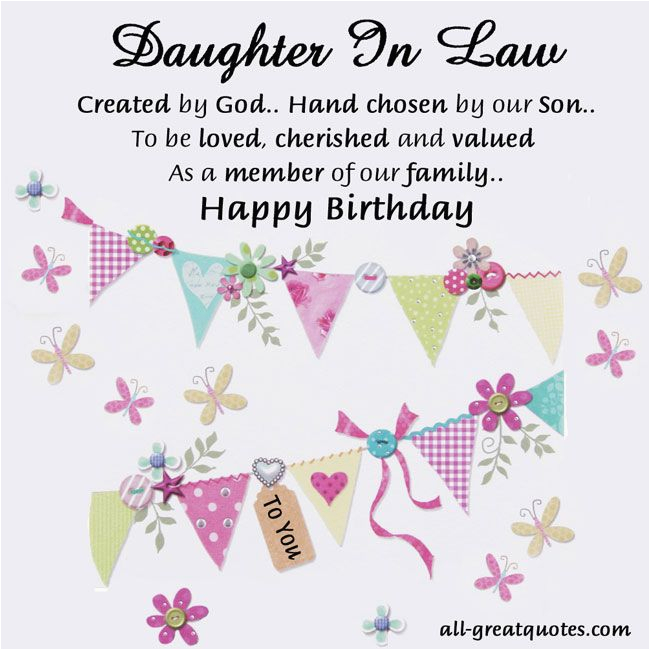 Free Happy Birthday Cards For Daughter In Law