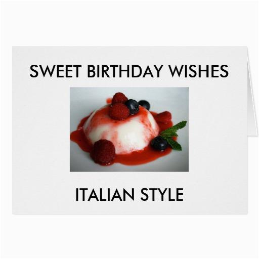 sweet birthday wishes italian style card 137998434493989258