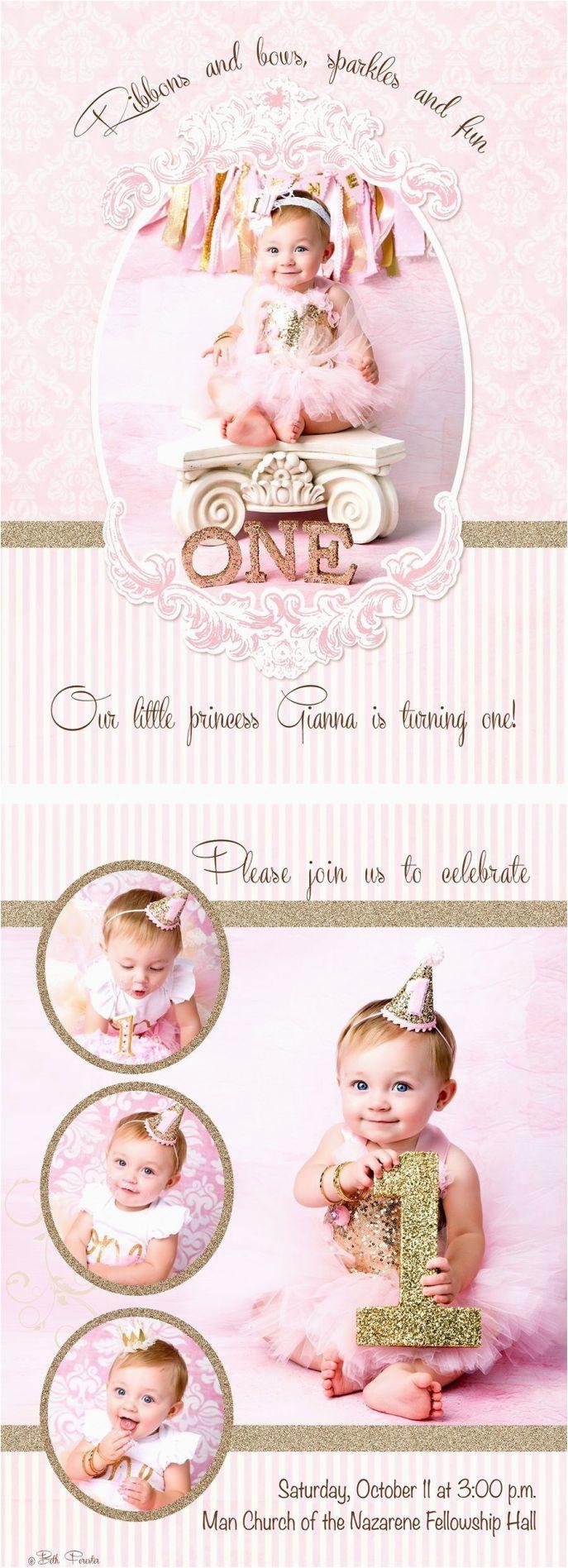 Birthday Free Online 1st Invitation Card Maker