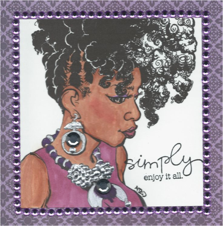 Free Online African American Birthday Cards Card My Creations Pinterest