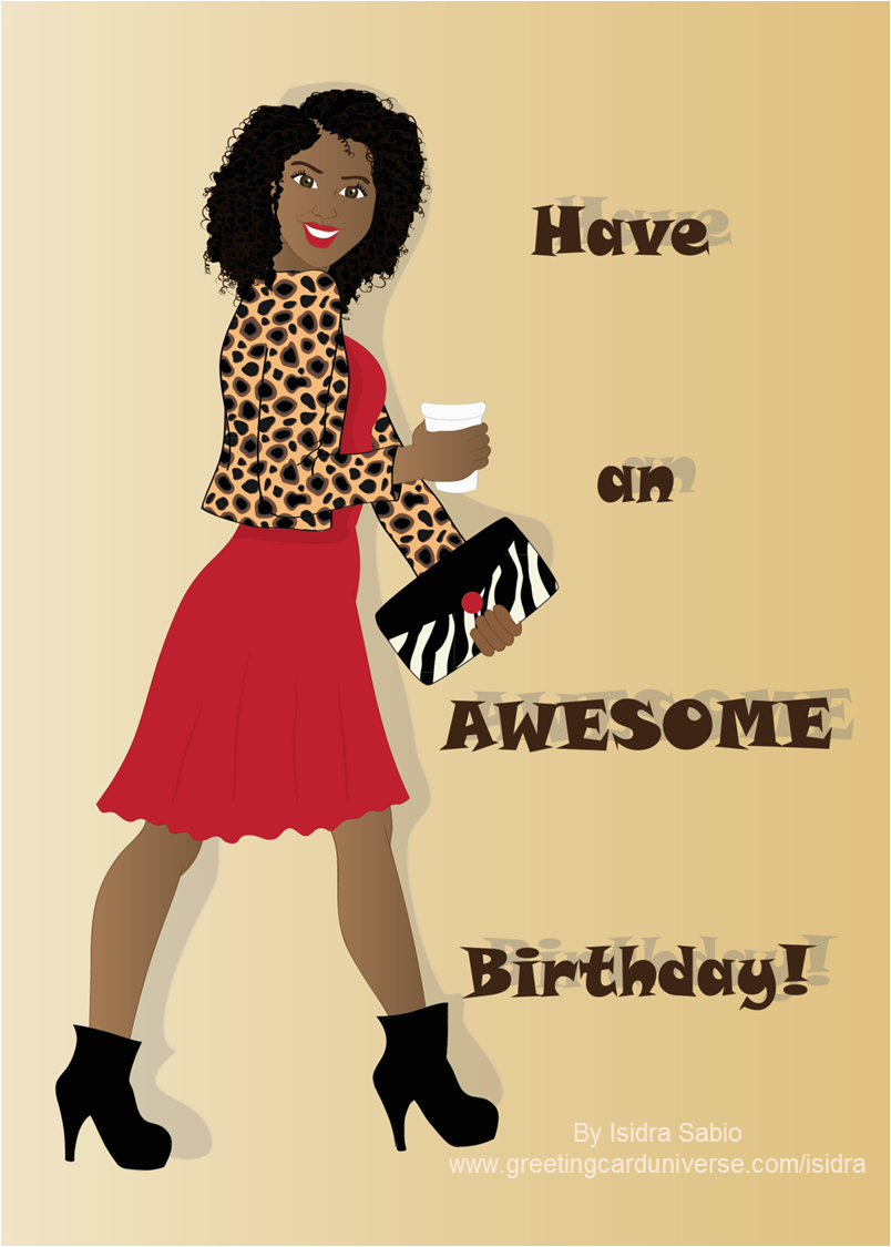 Free Online African American Birthday Cards Card For Women This Is An Of Boldly
