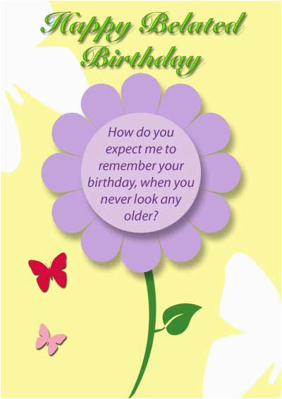 Free Online Belated Birthday Cards 6 Best Images Of Happy Printable