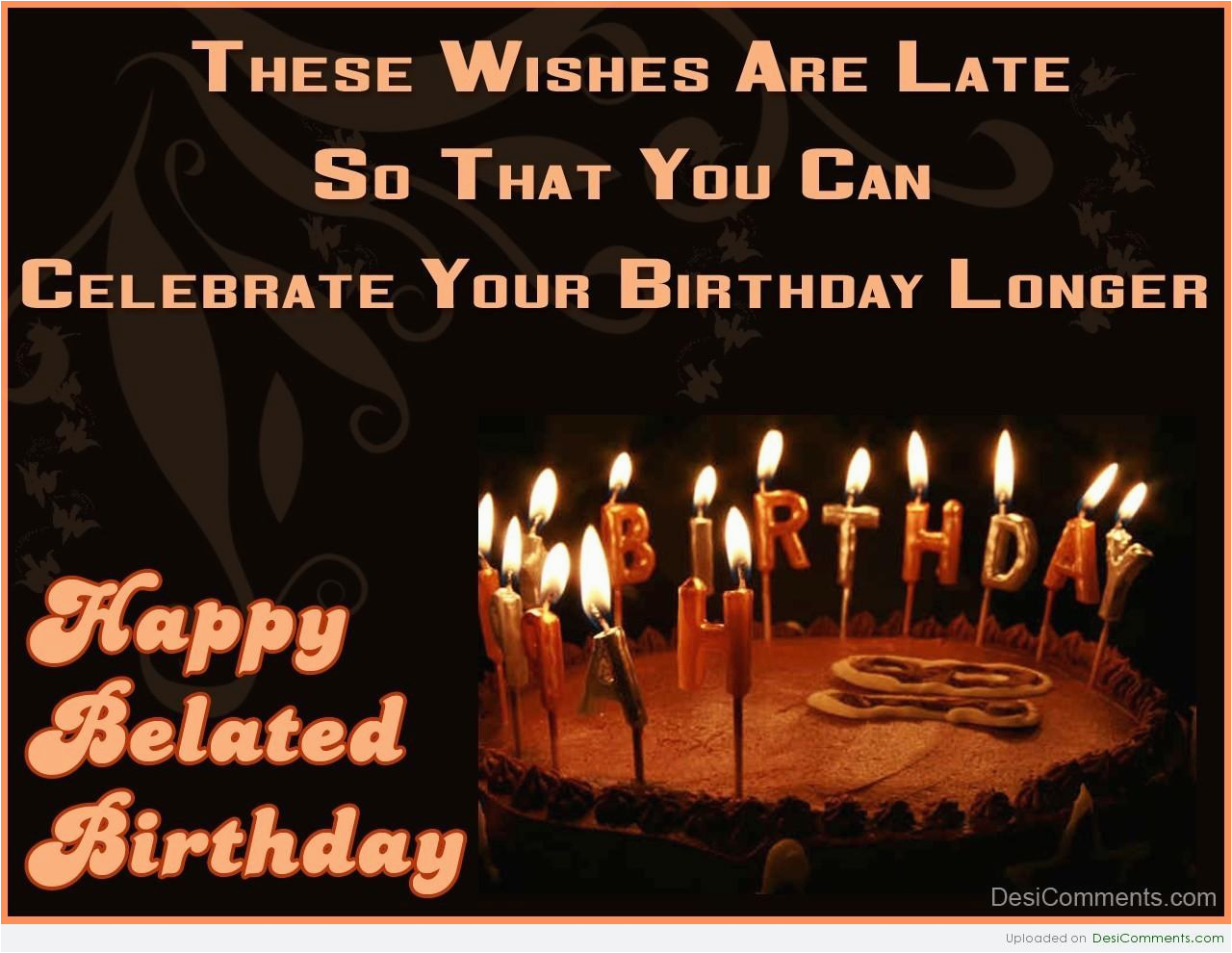 Free Online Belated Birthday Cards Quotes For Colleagues Quotesgram