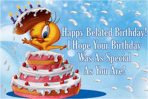 Free Online Belated Birthday Cards Send Ecard Happy From Greetings101 Com