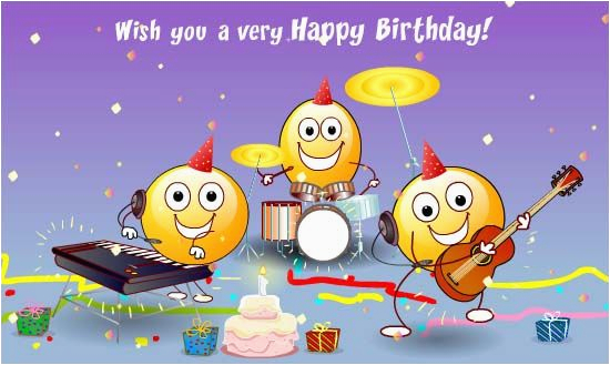 Free Online Birthday Cards With Music The Happy Song Songs Ecards Greeting 123
