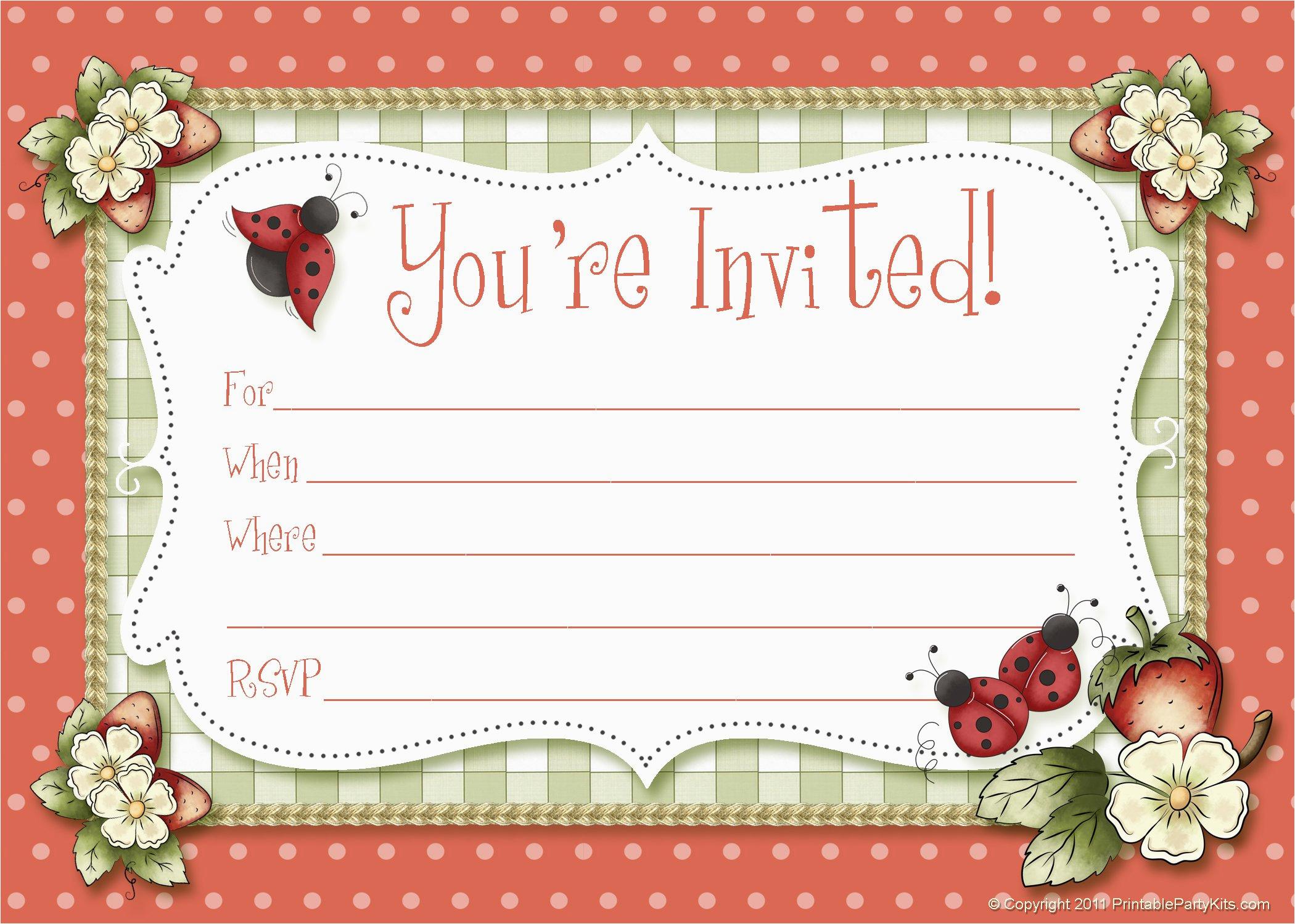 Free Online Birthday Invitations Maker Custom Invitation
