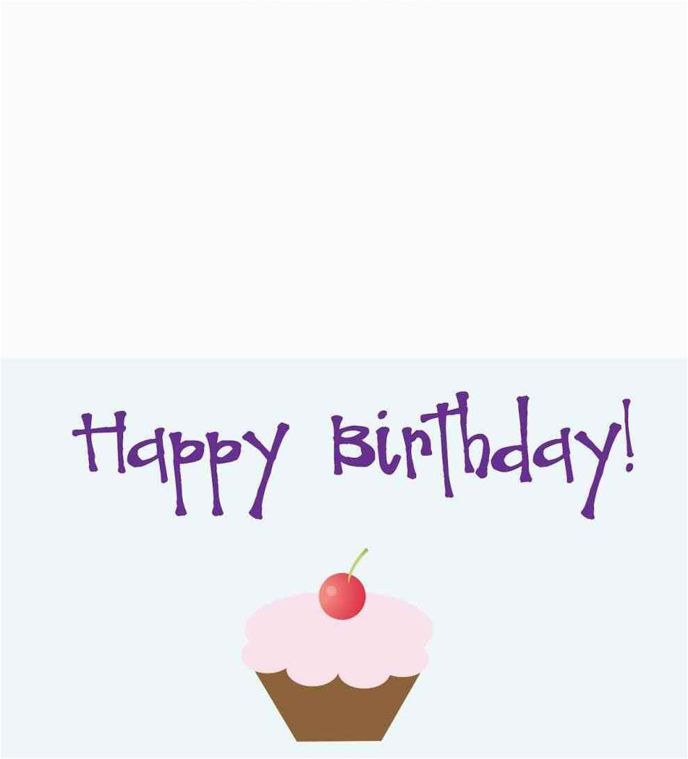 Free Online Printable Birthday Cards No Download Template