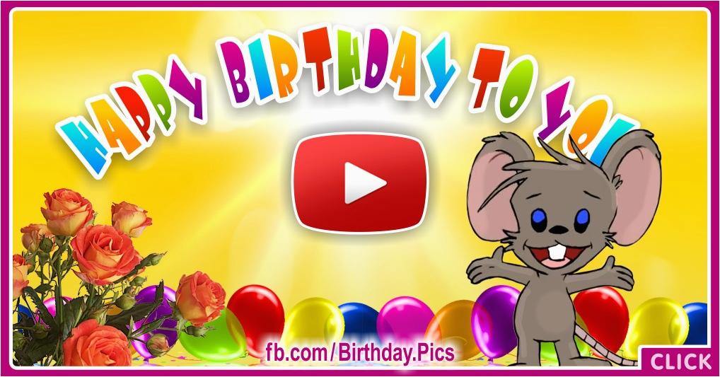 free musical birthday cards free singing birthday cards